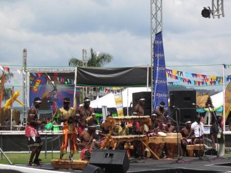 Buganda traditional dance between races.