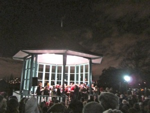 The bandstand at the Horniman Museum