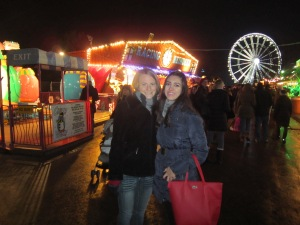 Faith and Basma in a... Winter Wonderland?