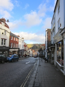The streets of Lewes