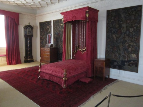 One of the sumptuous rooms inside