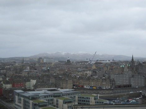 Looking northwest from Calton HIll.