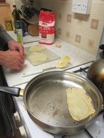 Snack solution: tortillas!