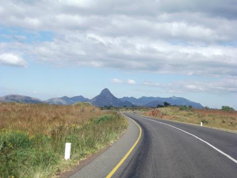 Driving south toward Blantyre.