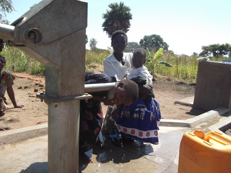 New borehole in action