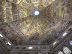 Failed attempt to capture the Baptistery interior