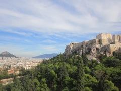 Athens in November